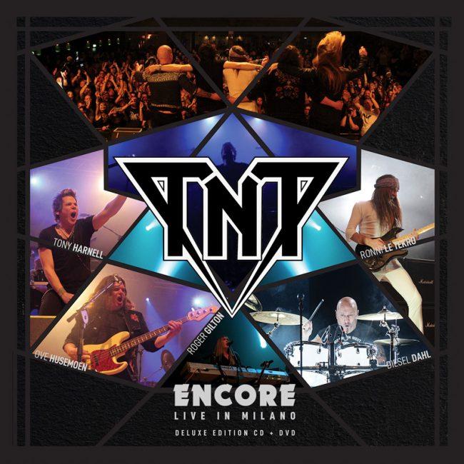 TNT - Nuevo disco en directo con Tony Harnell