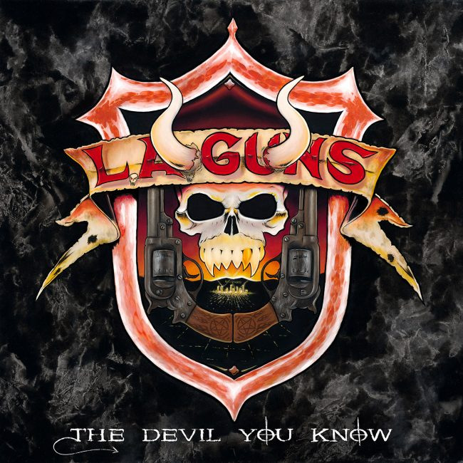 "L.A. GUNS - Nuevo disco ""The Devil You Know"""