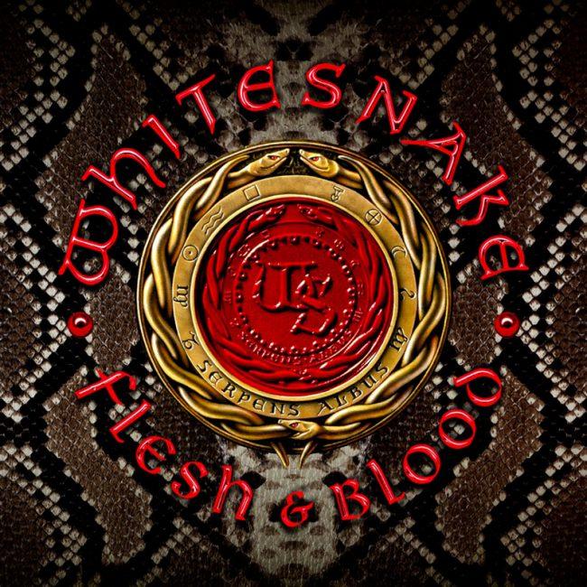 """WHITESNAKE - Nuevo álbum """"Flesh & Blood"""""""
