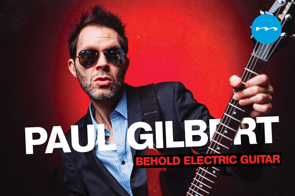 "PAUL GILBERT - Nuevo álbum ""Behold electric guitar"""