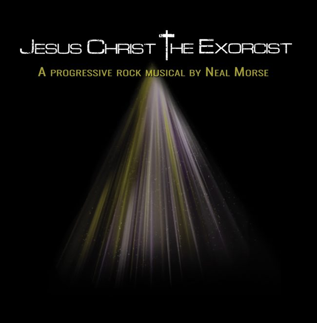 "NEAL MORSE edita la opera rock ""Jesus Christ - The Exorcist"""