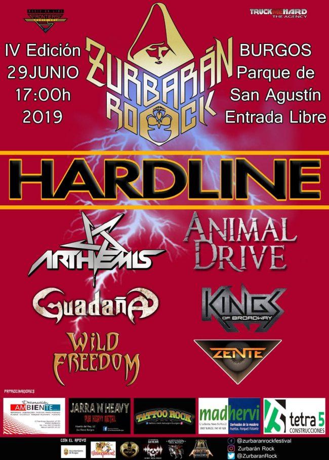HARDLINE encabeza el ZURBARÁN ROCK 2019