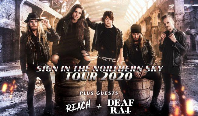 H.E.A.T / DEAF RAT / REACH en Barcelona, Burgos y Madrid 2020