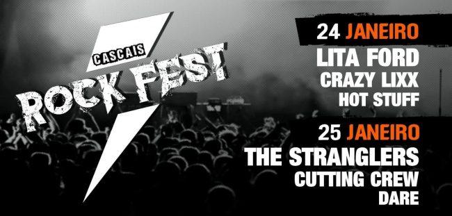 CASCAIS ROCK FEST 2020 – LITA FORD, DARE, CRAZY LIXX, THE STRANGLERS…