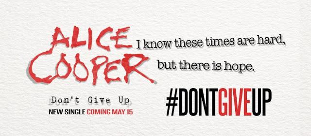 "ALICE COOPER - Nuevo single ""Don't give up"" | Rock Angels Web & Radio"