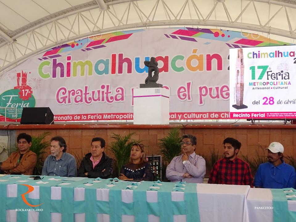 Anuncian rock en la Feria de Chimalhuacán
