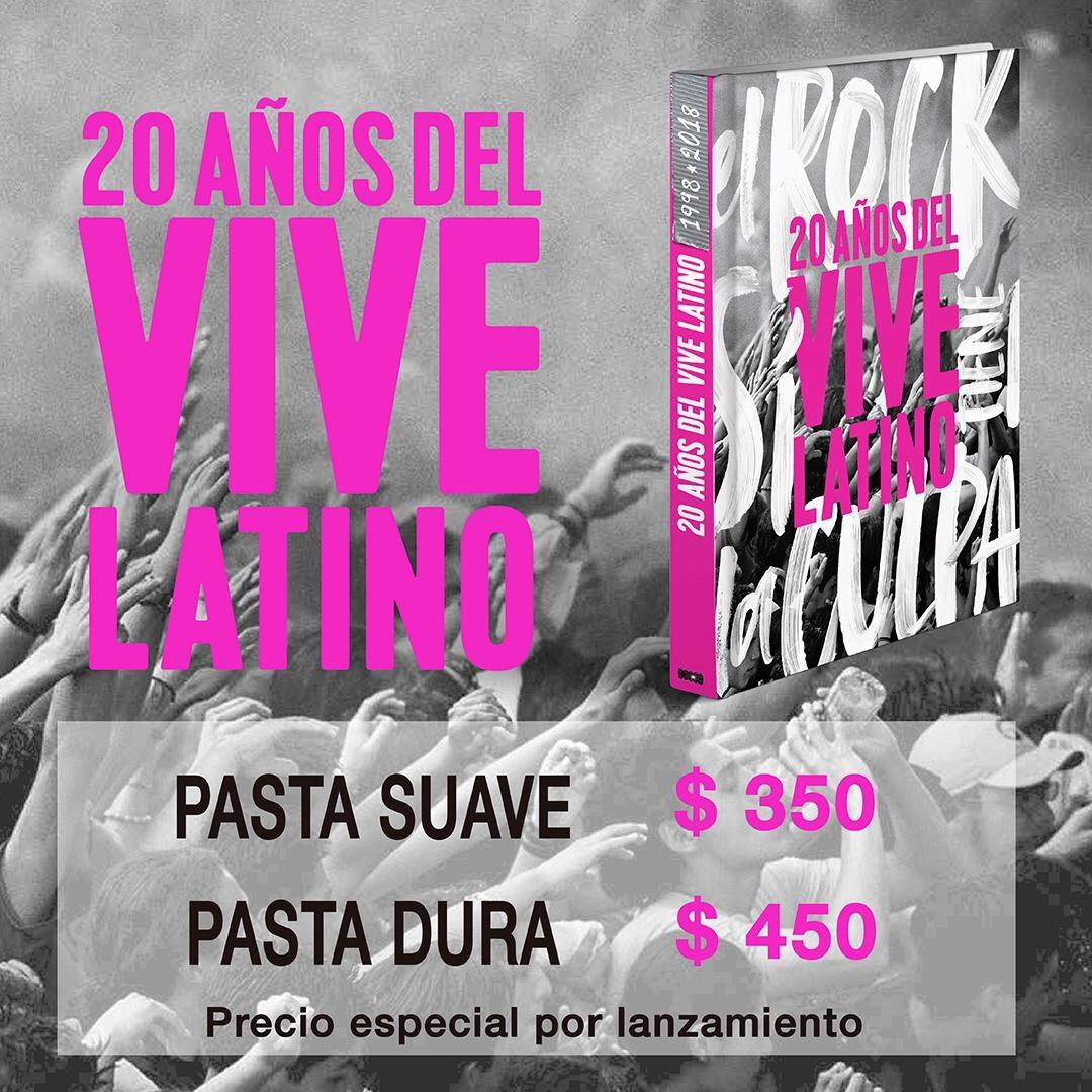 Lanzan libro sobre el Vive Latino