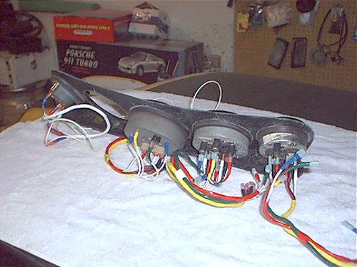 Porsche 911 Fuel Gauge Wiring