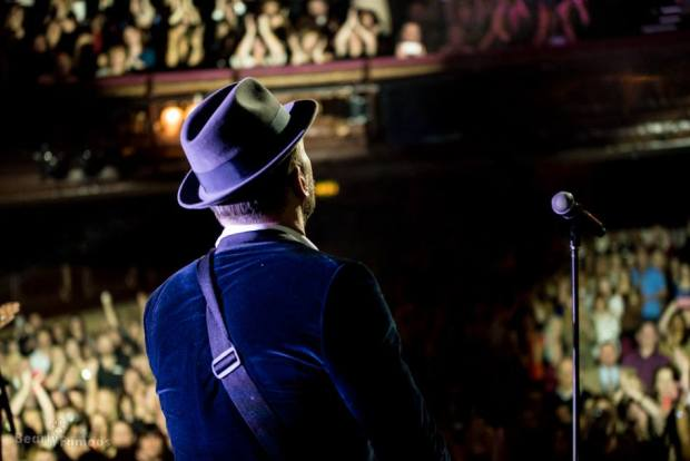 Matt Goss at the London Palladium on January 25, 2015