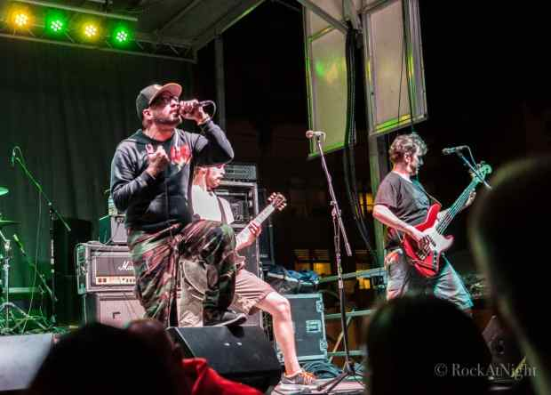 Nuno Pereira, Mike Supina, Brian J. Robinson of A Wilhelm Scream
