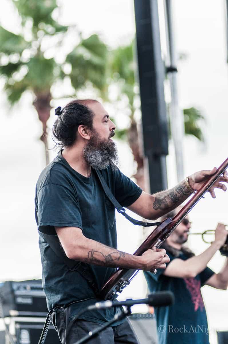 Dan Foder of The Budos Band