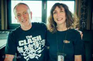 Phil Collen and Chyrisse Tabone in Tampa, FL