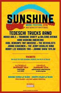 Sunshine Music Festival 2016