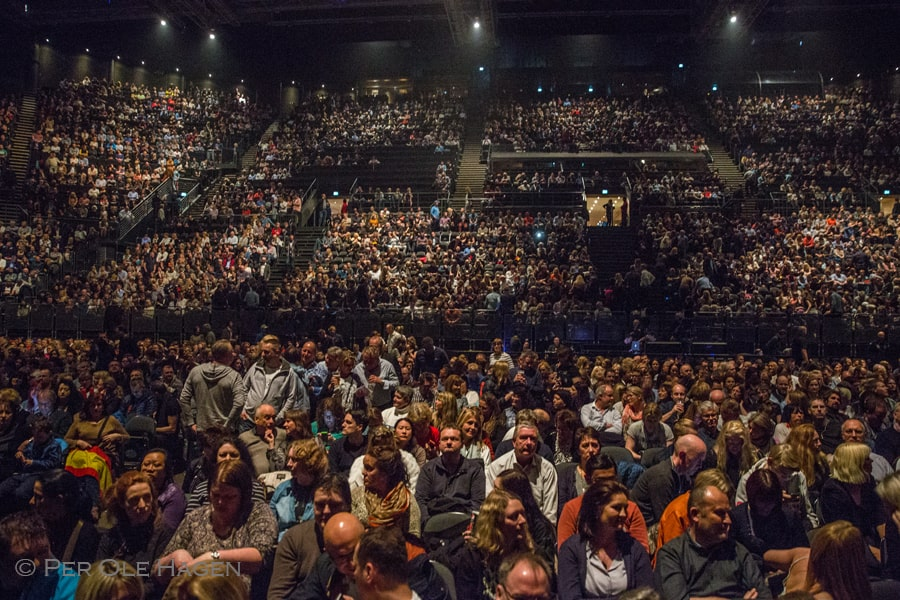 a-ha audience Oslo © Per Ole Hagen