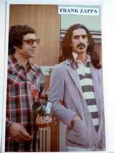 Jose and Frank Zappa