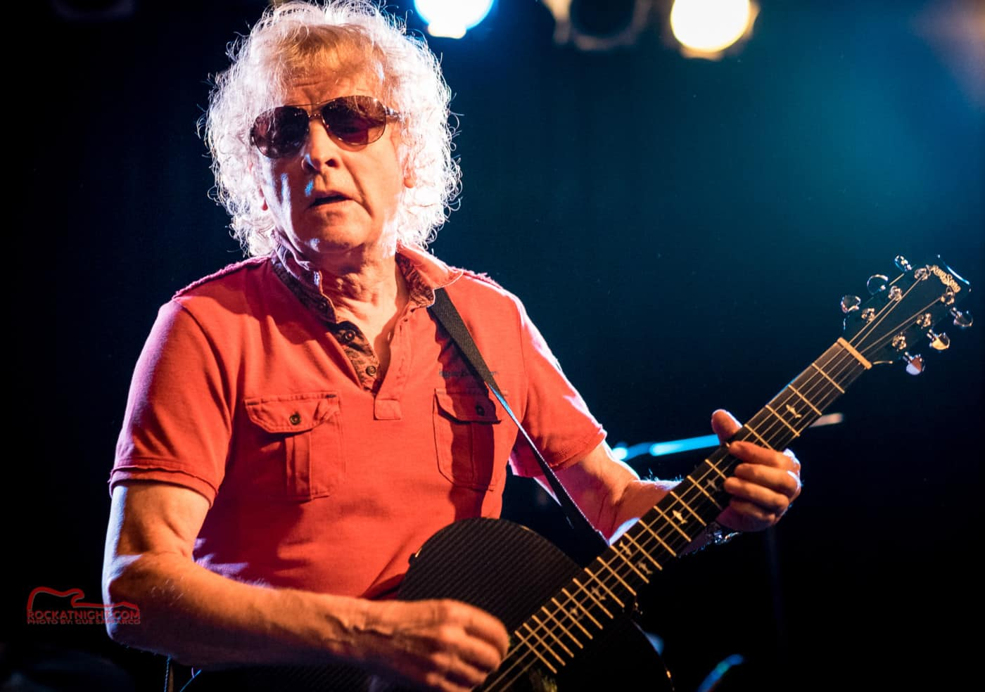 Ian Hunter and the Rant Band-Photo by Gus Samarco