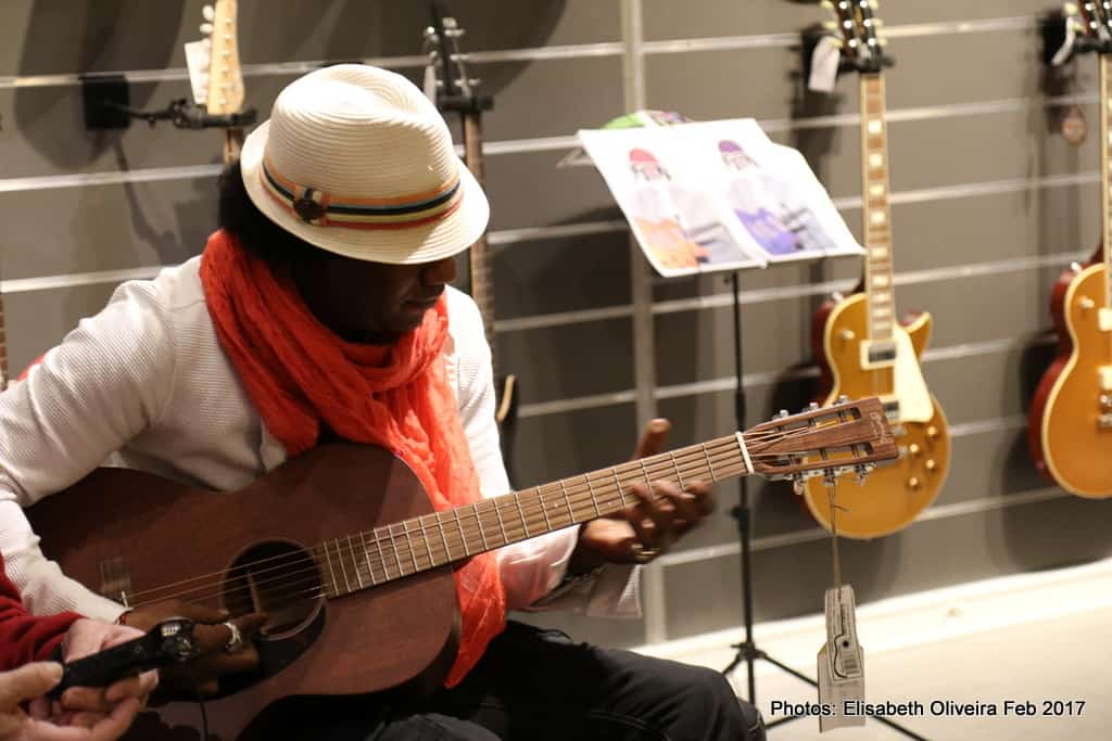 Ladell McLlin at Woodstock Guitares