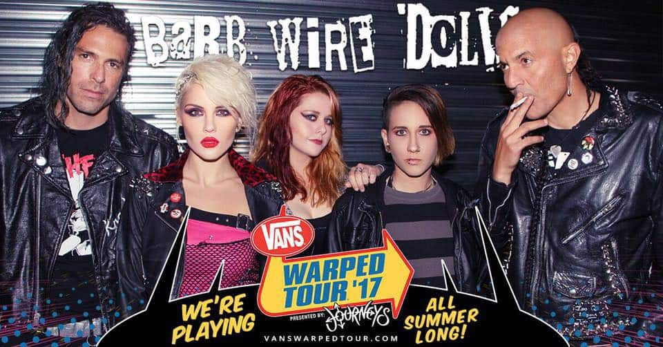 Barb Wire Dolls-Vans Warped