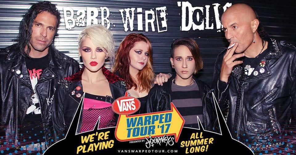 Barb Wire Dolls-Vans Warped
