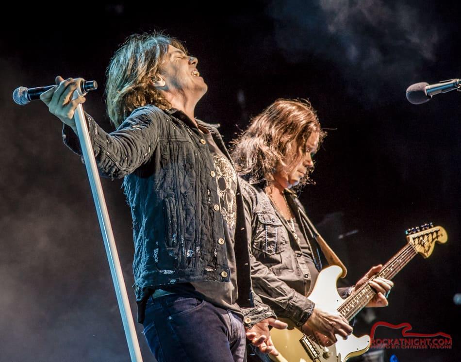 Joey Tempest and John Norum of Euroe   Rock At Night