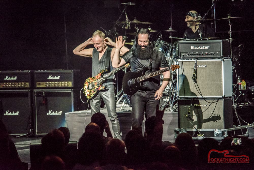 John Petrucci, and Phil Collen