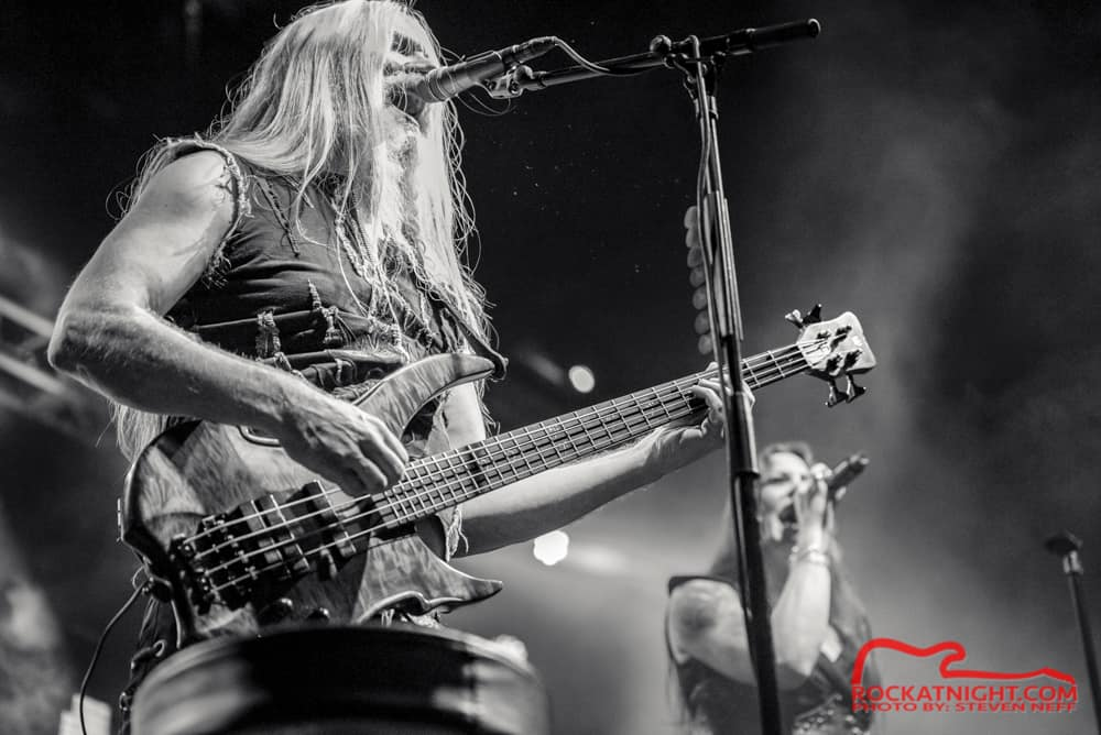 Marco Hietala and Floor Jansen