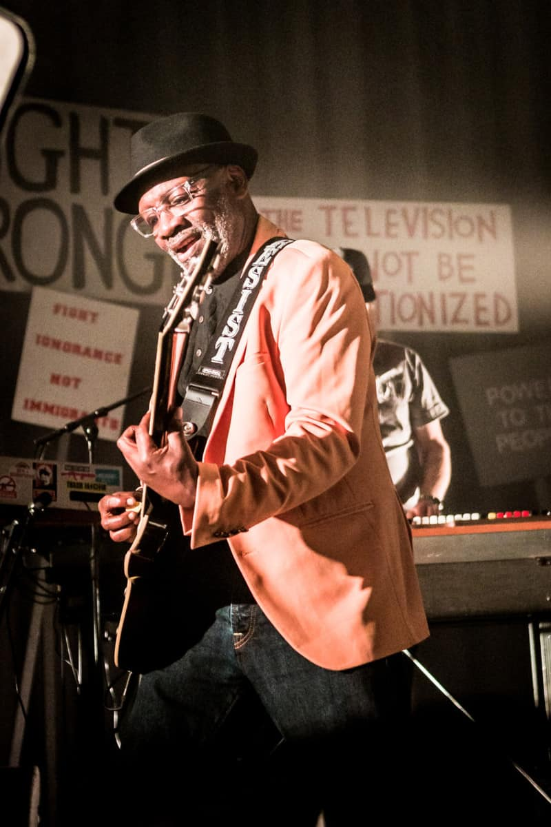 Lynval Golding of The Specials