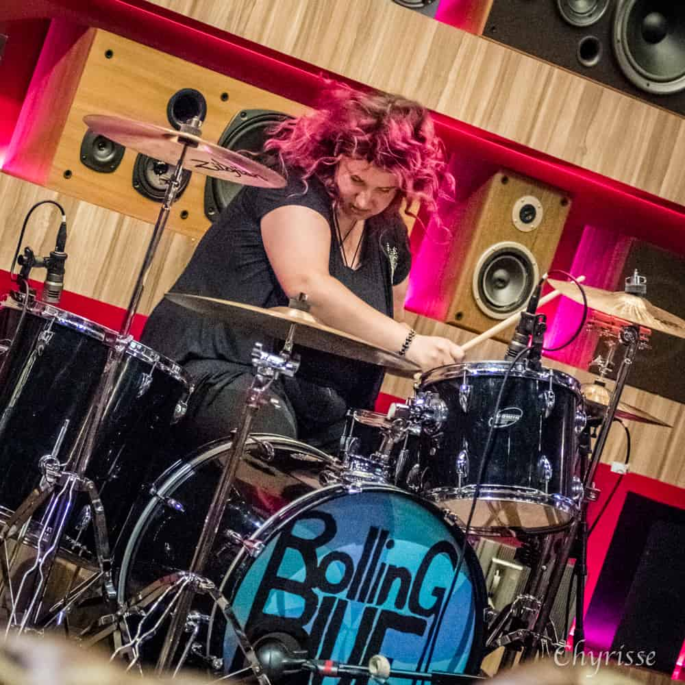 Brianna Worrall of Rolling Blue