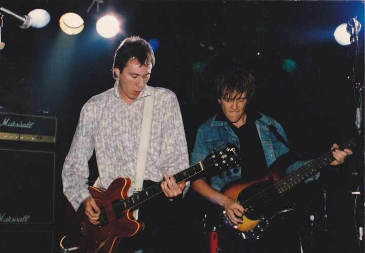We were called The Truth, toured with Squeeze & The Hooters for 6 months in 85