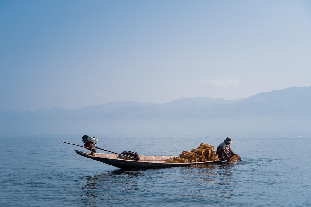 pêcheur, lac Inle