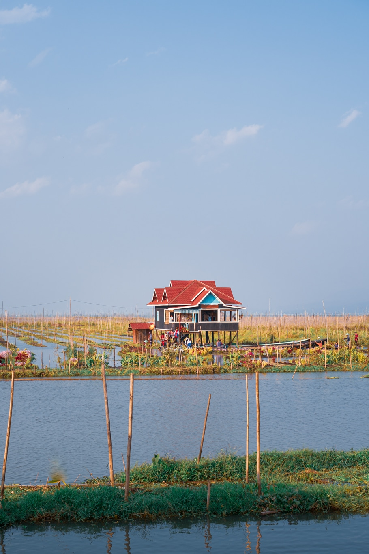 Jardin flottant, Myanmar