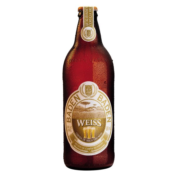Baden Baden Weiss (Estilo: German Weizen / Teor Alcoólico: 5,2% / Cervejaria: Baden Baden / País: Brasil)
