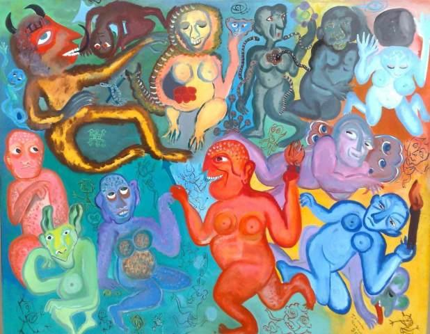 Resultado de imagem para linha expressionista krug