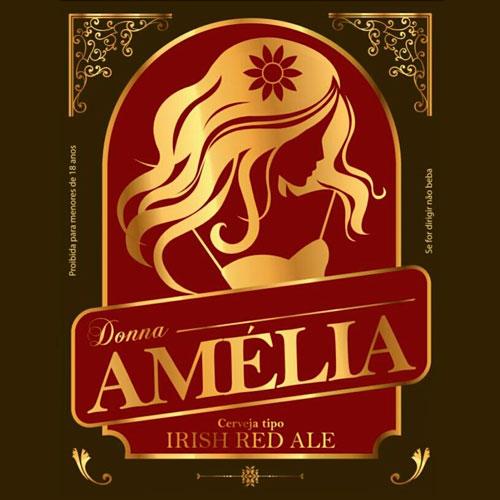 Amélia (Estilo: Iris Red Ale / ABV: 5,5% / Cervejaria: Donna / País: Brasil)