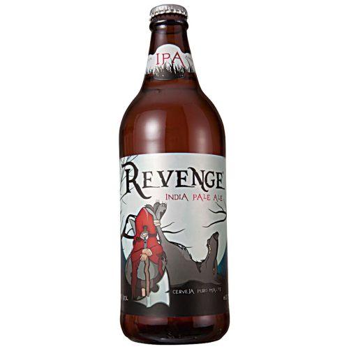 Revenge (Estilo: IPA / ABV: 7,5% / Cervejaria: Quinta do Malte / País: Brasil)