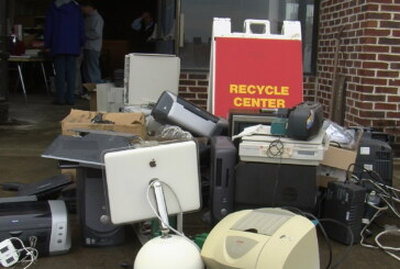 Recycling event targets old TVs and used electronics