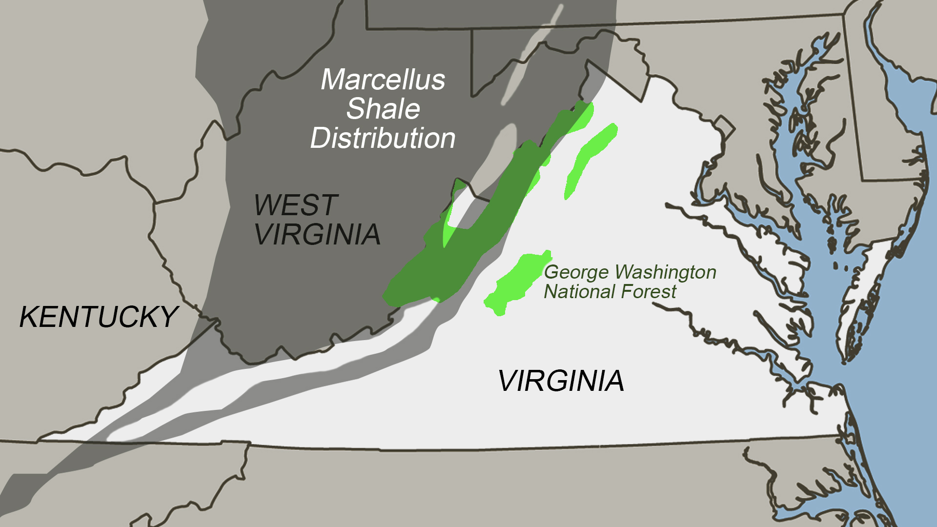 On the radar at the GW National Forest: fracking