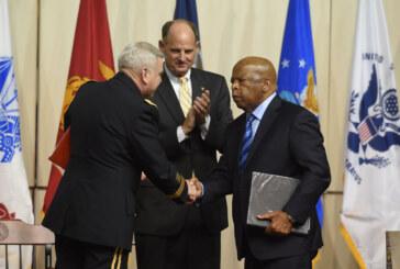Lewis, MLK ally, given VMI's Jonathan Daniels Award