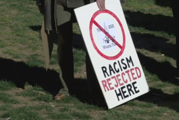 Lexington residents rally against racism