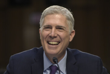 Gorsuch: 'No man is above the law'