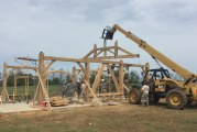 VMI cadets engineer pavilion for BV high school