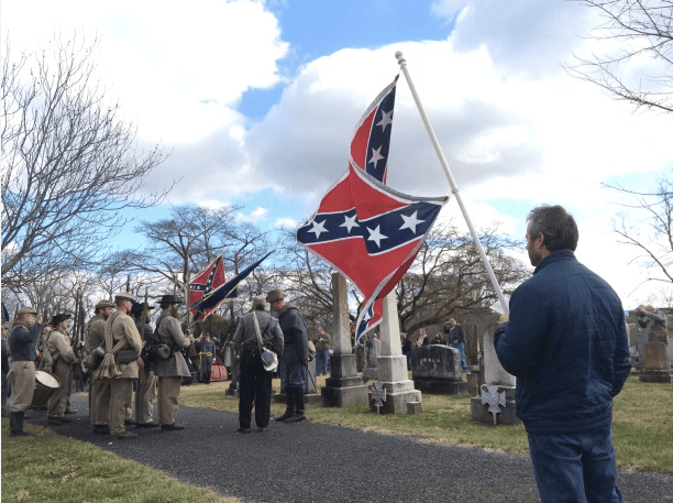 Sons of Confederate Veterans at the Lee-Jackson Parade
