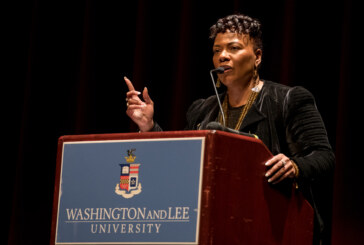 MLK's daughter preaches nonviolence at W&L