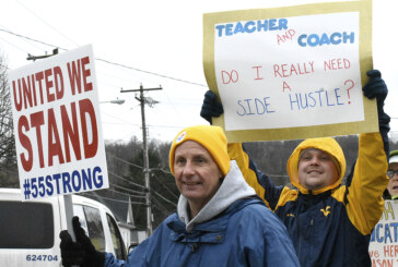 Striking West Virginia teachers look forward to fall elections