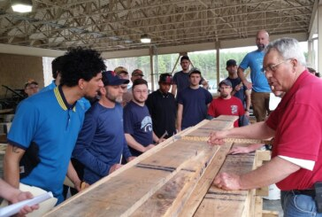 Dabney Lancaster looks to draw forestry students