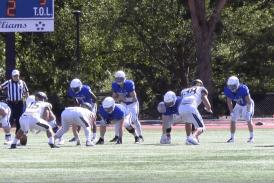 Washington and Lee football splits time between quarterbacks