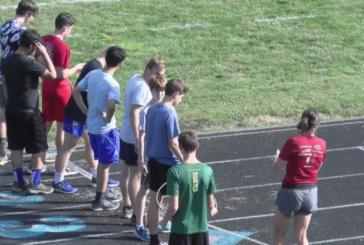 Rockbridge County High School XC team has unique coaching staff