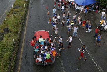 7,000 weary migrants still far from U.S. border