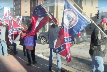 Virginia Flaggers show support for Confederacy's leaders
