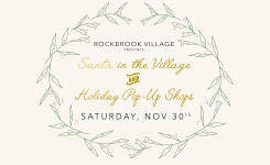 Santa in the Village & Holiday Pop-Up Shops!